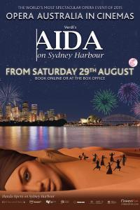 Opera Australia presents AIDA on Sydney Harbour
