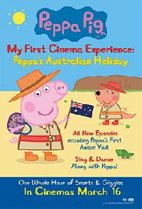 View details for Peppa Pig My First Cinema Experience: Peppa's Australian Holiday